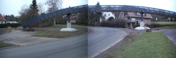 Bingelbrücke neubau