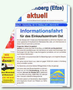 Informationsfahrt