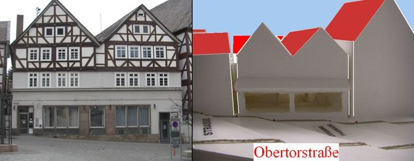 Zugang Passage Obertorstraße