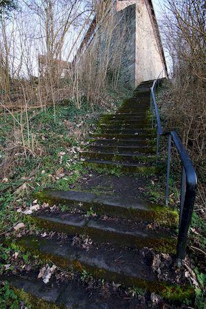 Treppenaufgang zur Burg